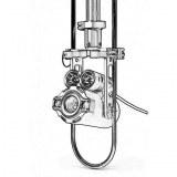 540TVL Underwater video pipe inspection cctv camera