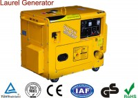 6KW Electric Super Silent Air-cooled Gasoline Generator