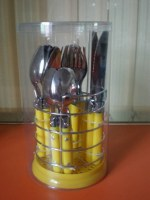 Hot sale PP handle cutlery set