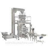 Système d'emballage de poudre pesant automatiquement 500g 1kg pour épice