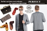 Aniltum Brand New Men's coat Fashion casual windbreaker Slim England Coat S223286