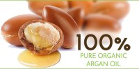 Natural argan oil for SPA benefits for hair and skin 100 % organic