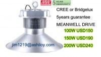 LED High Bay Light 150W Industrial Lighting/exhibition Hall Lamp highbay Factory lighti...