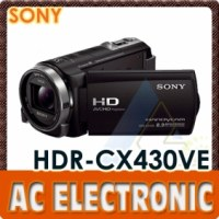 Sony HDR-CX430VE HD Handycam Camcorder (PAL)