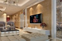 3D wall paper for interior wall decoration