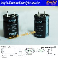 LowCurrent Loss Capacitor Snap in Electrolytic Capacitor for Battery Car Charging Stati...