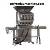 Double-head granule weighing packaging machine weighing coffee beans peanut