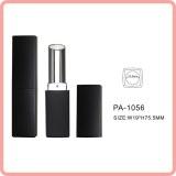 PA-1056 square matte black empty lipstick tube lipstick container