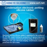 Black Color PCB Electronic Potting Silicone HY-215