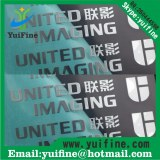 High quality trademark Electroformed sticker Metal label/Logo Name Plate Adhesive nicke...