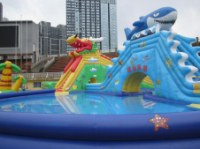 Outdoor Inflatable Water Games For Water Sport Inflatable Entertainment Centre