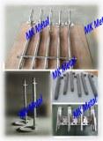 Grade 1, 2, 5, 6, 7, 9, 12, 23 ASTM B862 titanium and titanium customized pipe