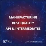 AMAR HEALTHCARE - API & INTERMEDIATES MANUFACTURERS IN INDIA
