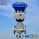 HCB Cage Type Double Seat Pneumatic Pressure Globe Control Valve