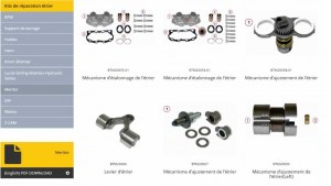 Brake Caliper Repair Kits For Trucks Buses Trailers Utility
