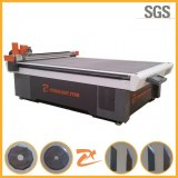 Cutting machine for any flexible material