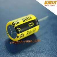 Top Quality Capacitor Radial Lead Aluminum Electrolytic Capacitor Radial Leaded