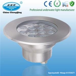 LED outdoor lighting DC24V stainless steel RGB LED underwater lights