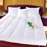Premium Quality A Luxury Hypoallergenic Baffle Box Feather bed Mattress Topper