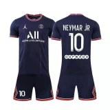 Soccer jerseys of different teams