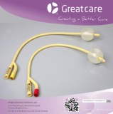 2-Way Foley Balloon Catheter(standard / rubber valve)