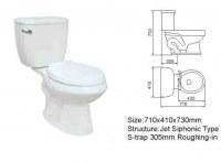 Home toilet, bathroom. washroom