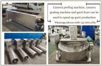 High profits garri production plant stainless steel automatic garri processing equipment