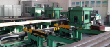 Automatic control tubing upsetting machine