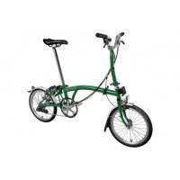 Brompton M6L 2019 Folding Bike Racing Green