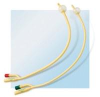 Disposable latex foley catheters, 2 way / 3 way