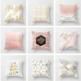 Brief Modern Throw Pillow Case Geometric Striped Flower Home Classy Decor