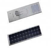 60W high efficiency integrated solar led street light for roadway lighting