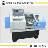 Auto feeder cnc mini lathe for metal processing