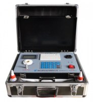 Portable lube oil analysis kit