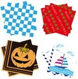 Paper napkin, luncheon napkin, disposable paper napkin, serviette, table napkin, 33x33C...