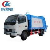 4X2 Dongfeng 5CBM Garbage Compactor Trucks