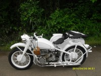 Changjiang 750CC motorcycle with sidecar