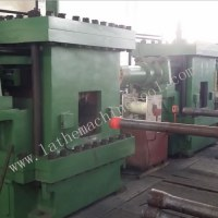 High efficiency horizontal forging press machine for Upset Forging of oil pipe end