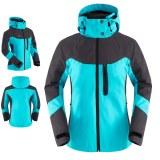 3 in1 jacket waterproof breathable jacket