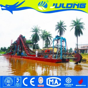 Julong High Recovery Rate Multi-Dimension Gold Minning Dredger