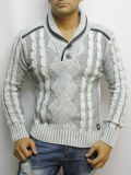 Pull Kevin GRIS CLAIR Model 3000GC
