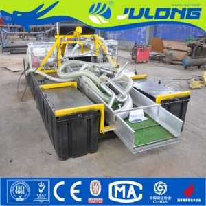 Julong Customized Professional Mini Gold Dredger for Hot Sale