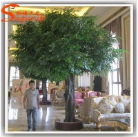 New products China supplier outdoor home & garden decor artificial bonsai,banyan trees