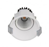 7W LED COB down light project used round rimless down light LED CE ROHS SASO KUCAS cert...