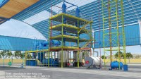 High oil yield used moter oil refinery plant for sale