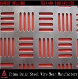 Galvanized Punching Hole Mesh in Guangzhou Supplier