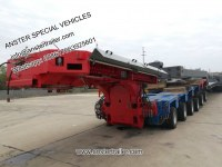 4 6 8 Axles 40 45 T Tons Payload Goldhofer Hydraulic Axles Module Modular Trailers