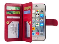 Premium Wallet Leather Case for iPhone 5SE