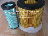 XCMG spare parts-loader-LW500F-engine air filter-A-5549+A-5550(860117355-2)