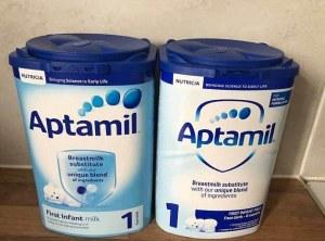 Nutrilon / Aptamil / Cow & Gate Infant Baby Milk Powder